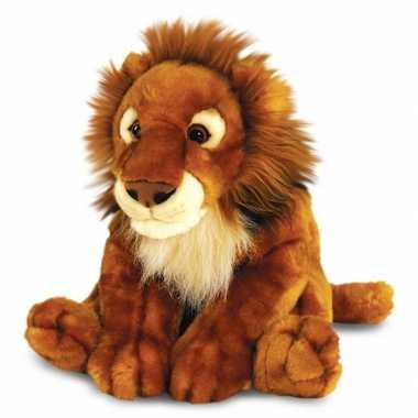 Pluche zittende Afrikaanse leeuw kopen