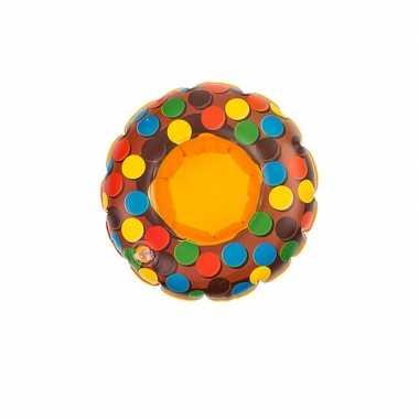 Poppen/knuffels zwembanden bruin donut kopen