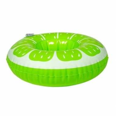 Poppen/knuffels zwembanden limoen kopen