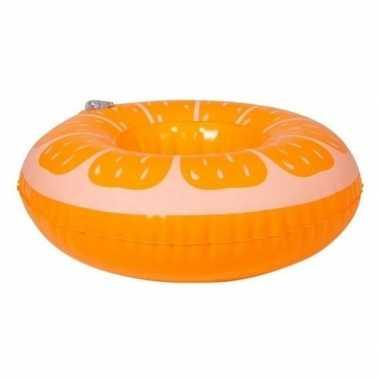 Poppen/knuffels zwembanden sinaasappel kopen