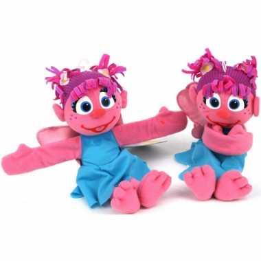 Roze Abby Sesamstraat knuffel kopen