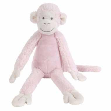 Roze knuffel aap kopen