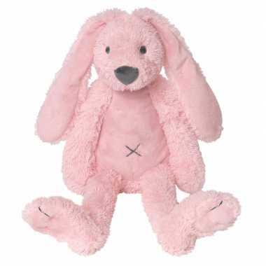 Roze knuffel konijn roze kopen