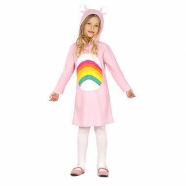 Roze regenboog jurkje meisjes kopen