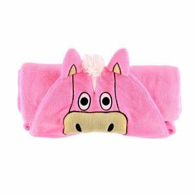 Rozee paard fleecedeken cm kopen