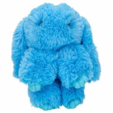 Topmodel knuffelhanger konijn blauw kopen