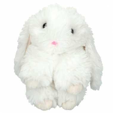 Topmodel knuffelhanger konijn wit kopen