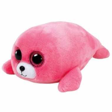 Ty beanie boo's pluche roze zeehond cm kopen