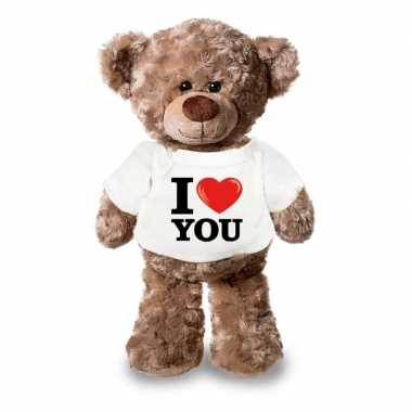 Valentijn i love you knuffelbeer kopen