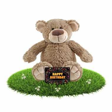 Verjaardagcadeau beren knuffel gratis verjaardagskaart kopen 10105516