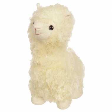 Witte alpaca/lama deurstopper/deurwig cm kopen