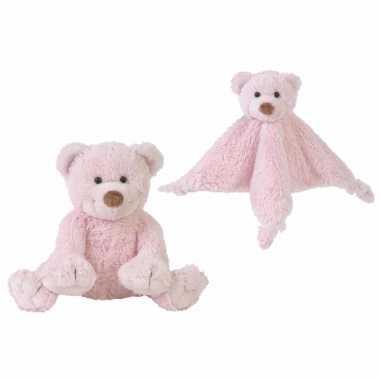 X stuks happy horse beertjes roze tuttel knuffel boogy kopen