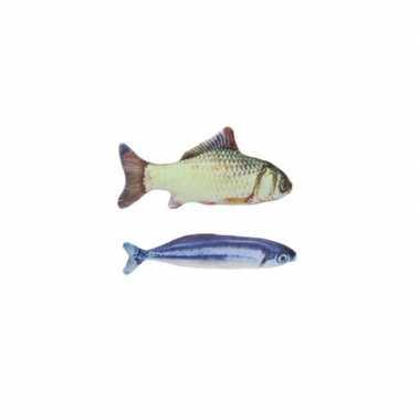 X vissenknuffels katten/poezen kattenkruid karper makreel kopen