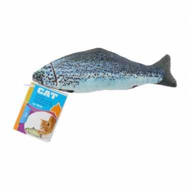 X vissenknuffels katten/poezen kattenkruid zalm kopen