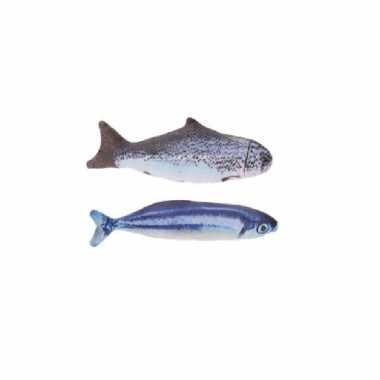 X vissenknuffels katten/poezen kattenkruid zalm makreel kopen