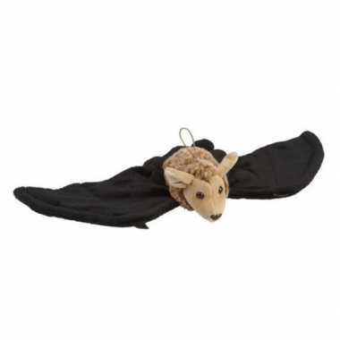 Zwart/bruine vleermuizen knuffels knuffeldieren kopen