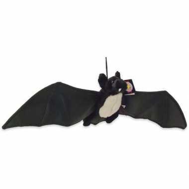 Zwarte vleermuis/vleermuizen knuffels knuffeldieren kopen