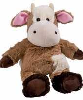 Opwarmbare knuffel koe kopen