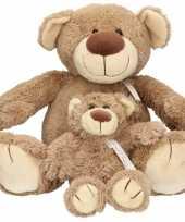 X lichtbruine happy horse moeder kind beren knuffels bella knuffeldieren kopen